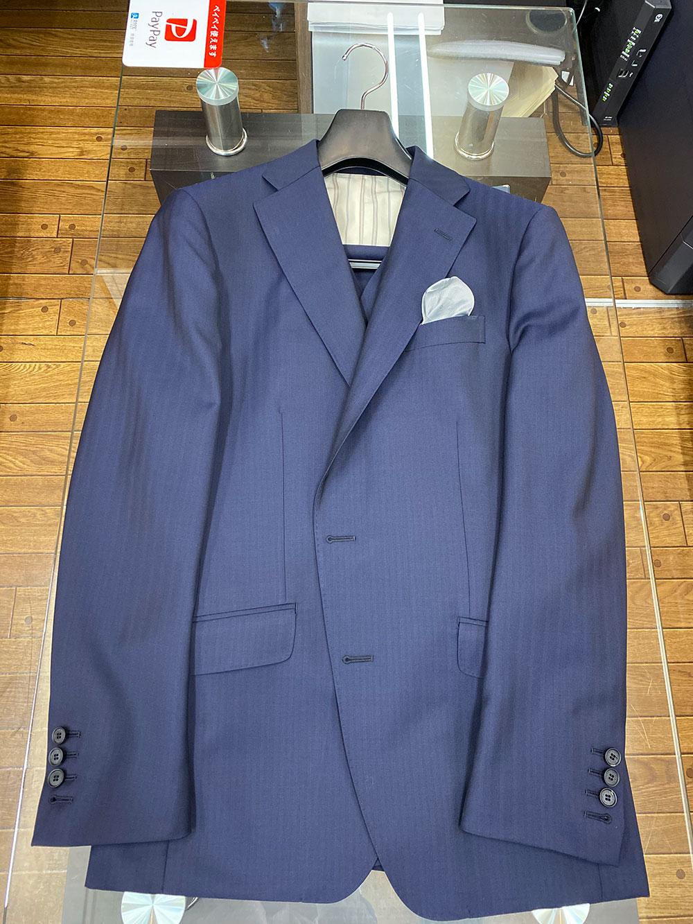A様 エルメネジルド・ゼニア トラベラーのオーダースーツ